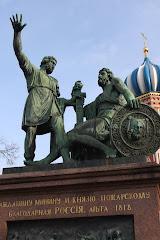 Le monument Minine et Pojarski