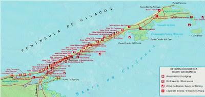 Varadero Map