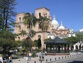 Cuenca's main square