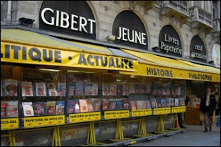Gibert Jeune bookstore Paris