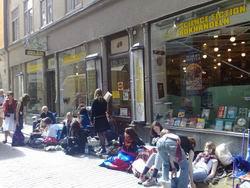 SF Bokhandeln bookstore Stockholm