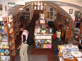 Anagram Bookshop Prague