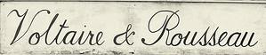 Voltaire and Rousseau Glasgow logo