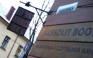 massolit bookstore outside krakow