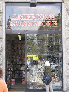 american bookstore in milan