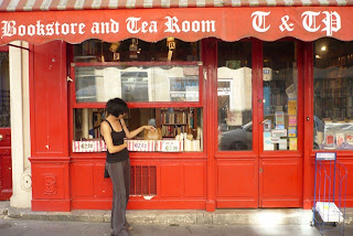 Tea and Tattered Pages Paris