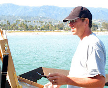 Painting in Malibu, CA