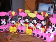 Hermosos dulceros o sorpresas de goma eva para la princesita de la casa