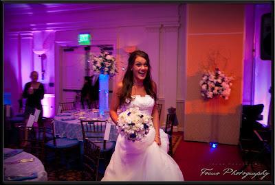 Lights  Wedding Centerpieces on The Wedding Belle  Jackie   Chris  My Big Fat Greek Wedding