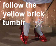 Follow the Yellow Brick on Tumblr