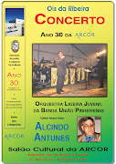 CONCERTO DE MÚSICA E CANTO NO SALÃO DA ARCOR