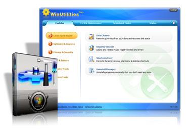 Capa WinUtilities Professional v10.0 + Serial