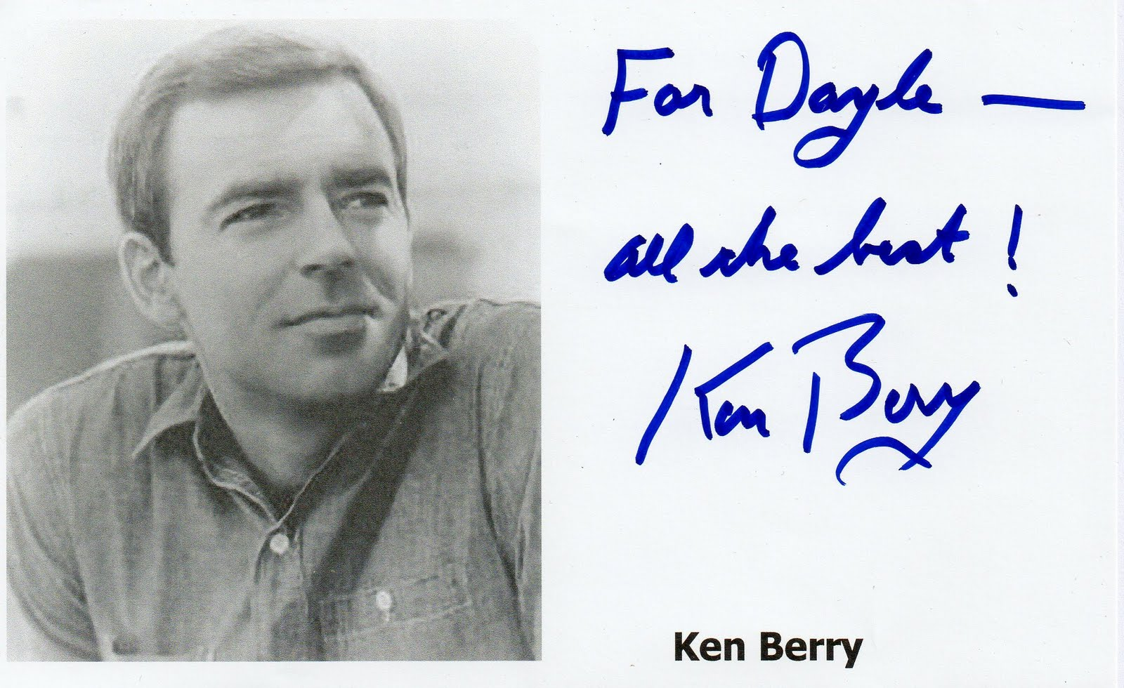 Ken Berry Wallpapers Ken Berry Photos Actor Ken Berry F Troop Mayberry R F D shown