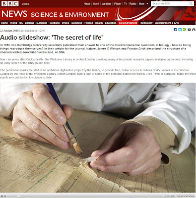 BBC audio slideshow