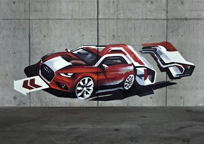 dibujo Audi A1