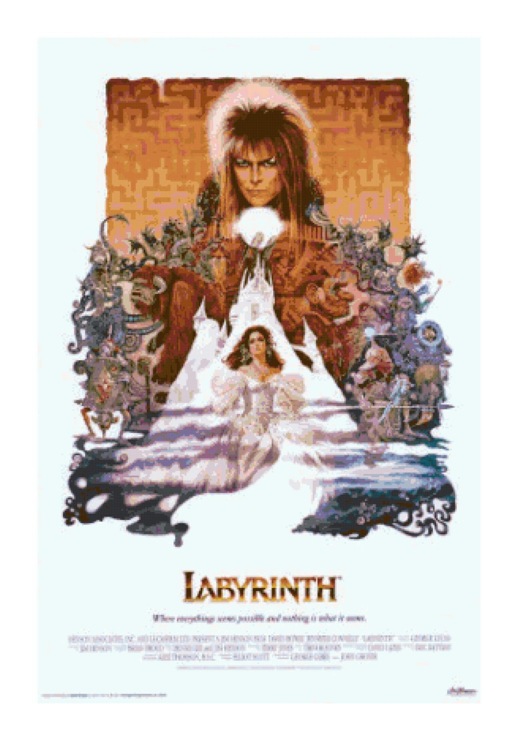 POPSICULTURE: 80s Movies: Labyrinth (1986) Labyrinth 1986 Poster