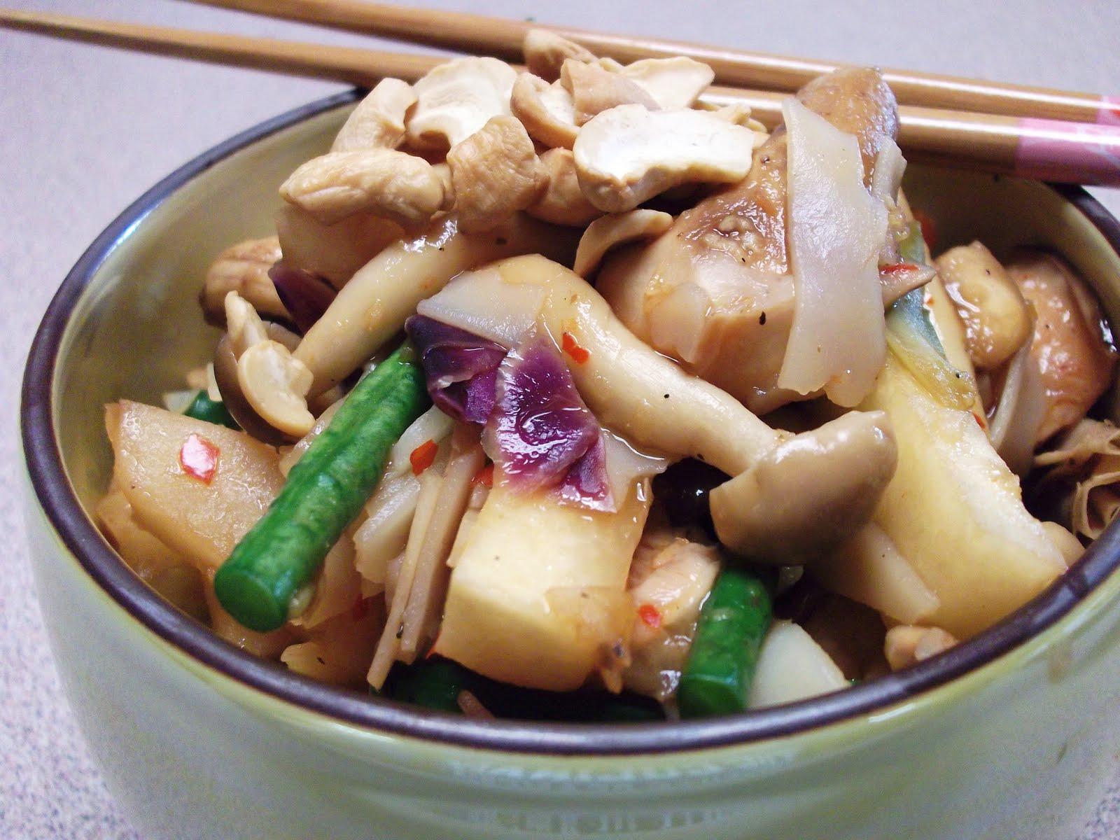... Another [Vegan] Health Freak: Bean Curd Skin and Pho Noodle Stir Fry