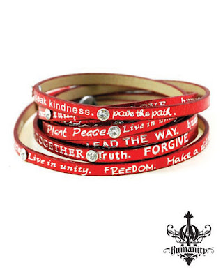 Humanity Wrap Bracelet, Good Works Wrap Bracelet