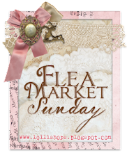 flea market sunday button