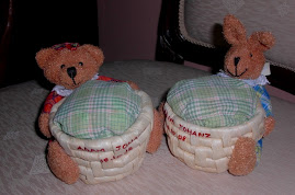 Cukur Jambul doorgift- Bear Basket (sold out)