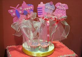Bunga Telur Foam Paper (contoh girl)