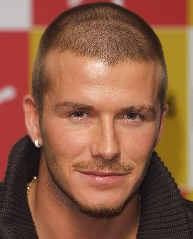 David Beckham Buzz Cut Short Hair for Men