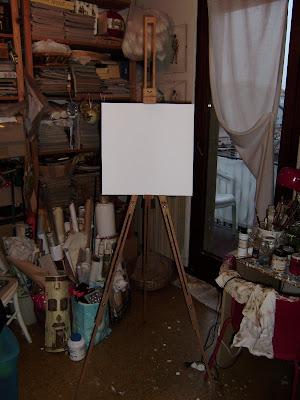 I lavoretti di cristina gennaio 2010 for Cavalletto pittore ikea