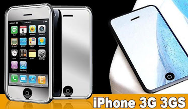 Mirror screen protector for iphone or