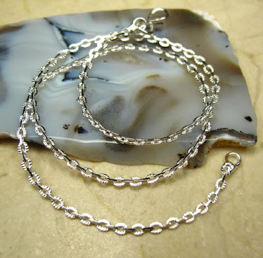 2mm silver rolo chain