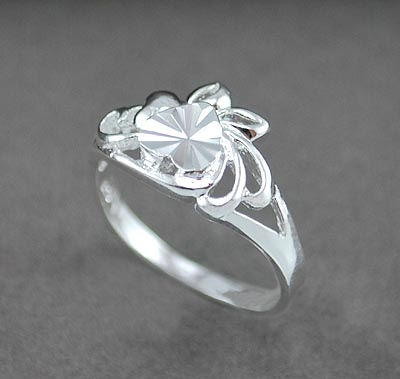Tinky silver ring