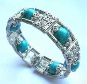 turquoise fancy bracelet