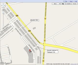 Doggyjames Says TK Kopitiam Kuey Teow Soup Alor Setar - Alor setar map