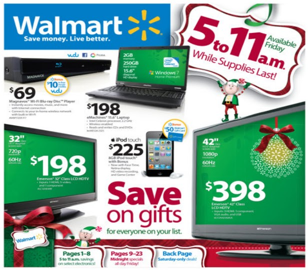 Rgis inventory blog walmart 39 s biggest black friday sale ever for Best time of the year to buy furniture on sale