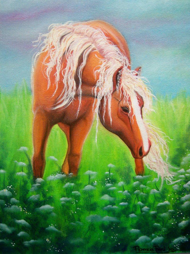 Cuadros de caballos pintados al oleo pintura y auto for Cuadros pintados al oleo