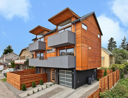 Urbantecture seattle seattle modern homes northwest for Northwest contemporary homes
