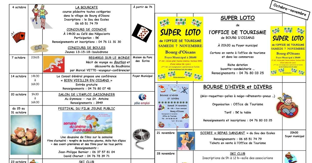 News de l 39 office de tourisme bourg d 39 oisans animations d - Le bourg d oisans office de tourisme ...