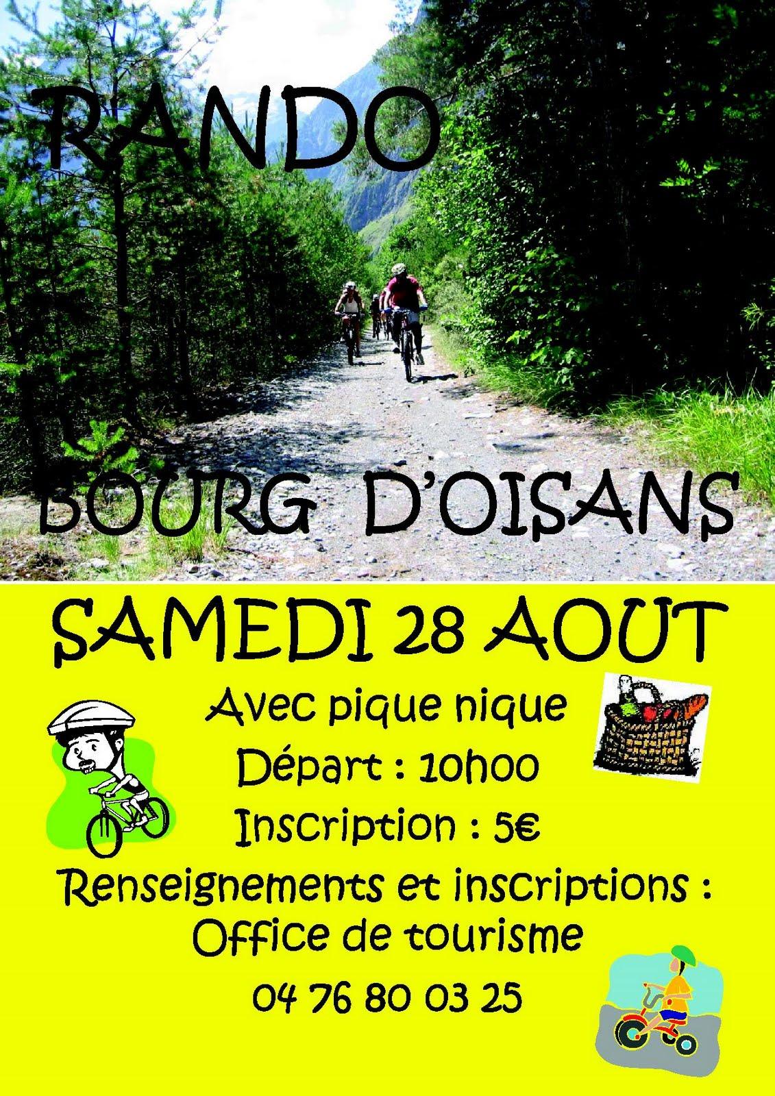 News de l 39 office de tourisme bourg d 39 oisans rando vtt ce - Office de tourisme bourg saint andeol ...