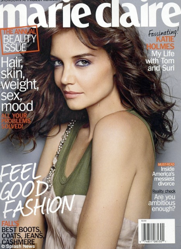 Katie holmes insists her adorable daughter suri is no spoiled brat