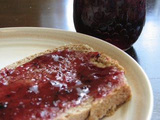 Homemade Jam and Bread
