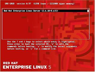 reset root password redhat linux 5