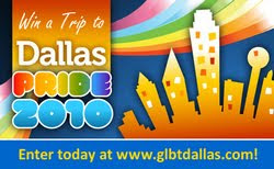 lgbt news, gay news, lgbt-news.com, Dallas Pride, win a trip, Dallas CVB, vacantion giveaway, GLBT Dallas