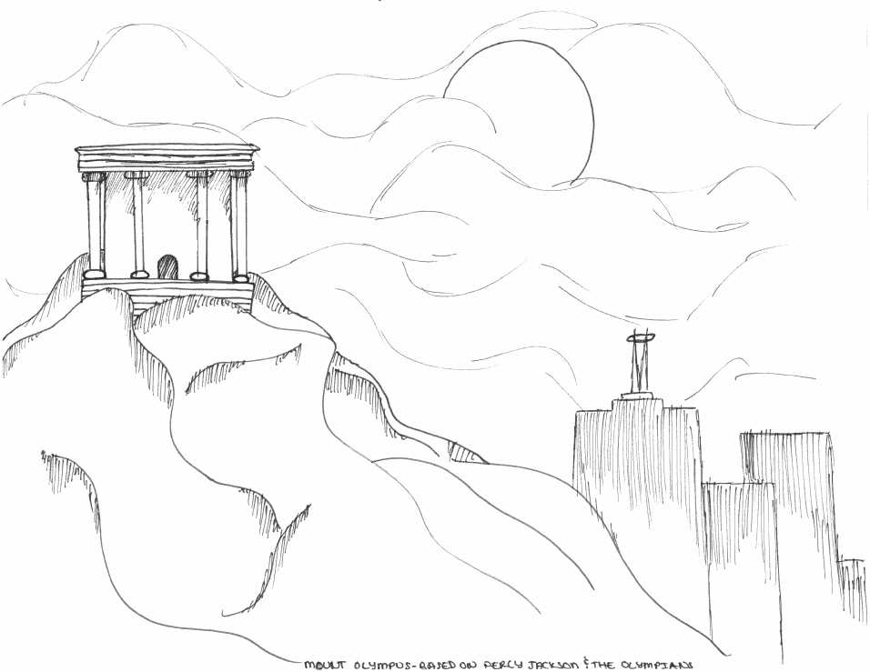 Mount Olympus Drawings