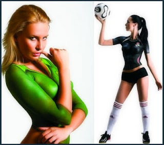 best bodypainting sport