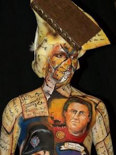 style body painting women