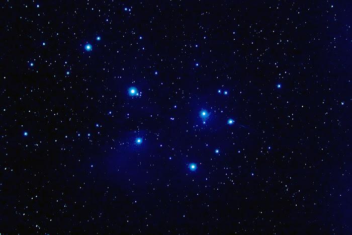 """Cúmulo abierto M45 """"Las Pléyades"""" en Taurus"""