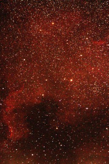 Nebulosa NGC7000 en el Cisne