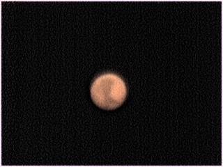 Marte durante su ùltima oposición