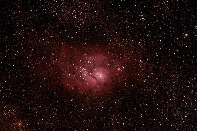 """Nebulosa de """"La Laguna"""". M8"""