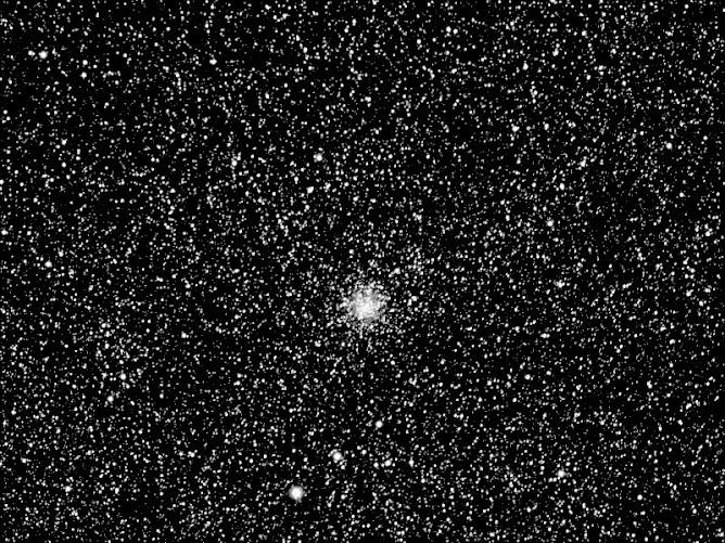 Cúmulo globular M71 en la constelación de Sagitta