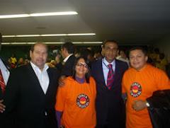 AÇÃO SINDICAL EM BRASÍLIA/2008